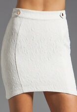Nwt Stylestalker White Time Travel Skirt In Milk 2 Sold Out!