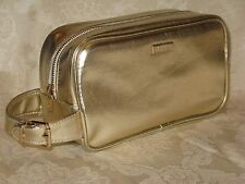 Versace. Gold Cosmetic/Makeup Bag. New. Authentic.