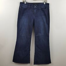 Joe's Jeans Wide Leg Provocateur Women's Dark Blue Jeans Size 31 Actual 34 x 29