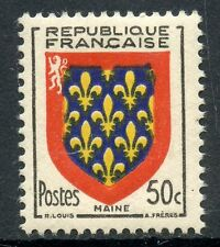 STAMP / TIMBRE FRANCE NEUF N° 999 ** BLASON MAINE