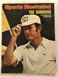 1975 Sports Illustrated THE US OPEN Lou GRAHAM No Label MEDINAH COUNTRY CLUB N/L
