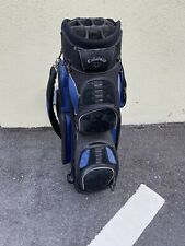 Callaway Golf Cart Bag 14-way Navy Blue