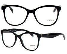 Prada Damen Herren Brillenfassung PR12TV 1AB-1O1 53mm schwarz Vollrand 140 15