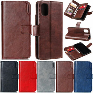 Luxury Wallet Leather Flip Case Cover For Samsung A12 A42 A52 A51 S21 S20 S10 S9