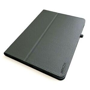 "Leder Cover Apple iPad Pro 11"" 2021  3.Gen Tablet Schutzhülle Case Tasche grau"