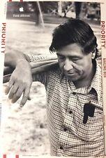 "Cesar Chavez APPLE Poster THINK DIFFERENT 17""/11"" New/Unused Original"