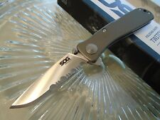 """Sog Twitch 2 II Assisted Open Tactical Pocket Knife Aus-8 TWI98-CP Serrated 6.2"""""""