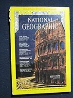 National Geographic Magazine March 1978: Capri, Rome