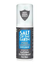 Salt of the Earth PURE ARMOUR Explorer Natural Deodorant for MEN 100ml Spray