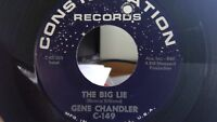 Gene Chandler- Nothing Can Stop Me / The Big Lie- Constellation 149 rare variant