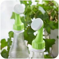2Pcs Water Bottle Nozzle Spraying Head Bonsai Watering Tool Plant Sprinkler Head
