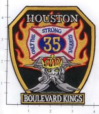 Texas - Houston Station 35 TX Fire Dept Patch - Boulevard Kings v1 - Old Style