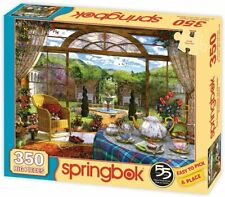 THE CONSERVATORY Springbok Jigsaw Puzzle 350 Big Pices Made of Recycled Material