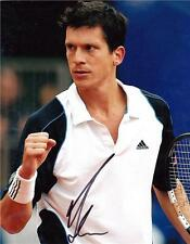 "Tim Henman - Colour 10""x 8"" Signed 'Match Win' Photo - UACC RD223"
