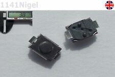2.5mm x 3.8mm Tortuga Táctil Pulsador Táctil Interruptor Micro 2-Pin SMD