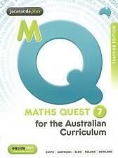 Maths Quest 7 for the Australian Curriculum Teacher Edition & eGuidePLUS '  Iamp
