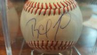 RAFAEL FURCAL Autograph Signed Official Major League Baseball Atlanta Braves
