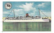 Eastern Steamship Lines - Passenger Liner S. S. EVANGELINE