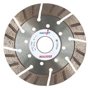 New Marcrist 115mm x 22.2mm Turbolite Diamond Grinder Grinding Disc Cutter