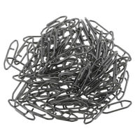 100 Pcs Carbon Steel Barrel Snap Swivels Snaps Fishing Lure Tackle Connector
