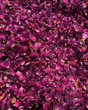 Red Burgundy Rose Petals - Natural Biodegradable Wedding Confetti,