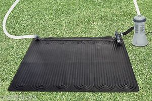 INTEX SOLAR MAT SWIMMING POOL HEATER UP TO 12FT 4.5M POOLS WATER HEAT SUN POWER