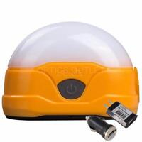 Fenix CL20R 300 Lumen Rechargeable Camping Lantern with USB Adapters (Orange)