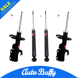 OEM KYB 2 Front Suspension Strut & 2 Rear Gas Shock Fits 2010-2015 Toyota Prius
