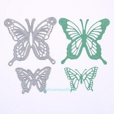 2X Butterfly Metal Cutting Dies Scrapbooking Album Paper Card Embossing Craft