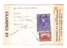 Haiti Sc#C13,#330-BUREAU DE KENECOFF-NOV/25/1942-REGISTERED-WWII CENSOR