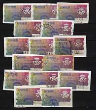 Espana (Spain): lote 15 ATM (cornamusas) 1995 Diferentes median