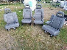 RARE. 1997-2001 Honda CRV front & rear leather seats,rd1rd2.rd3,fullmark