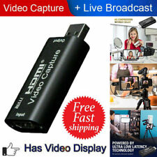 HDMI Video Capture Card USB 2.0 For Game Video Live Streaming Broadcast Tool