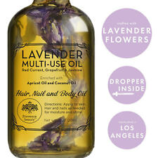 LAVENDER MULTI-USE OIL for Face Skin Hair Body and Nails Moisturizer