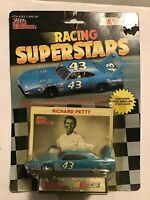 1991 Racing Champions RACING SUPERSTARS RICHARD PETTY #43. W/CARD & STAND
