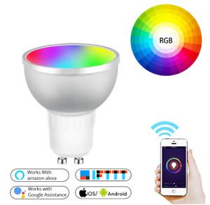 New WIFI intelligent LED bulb GU10 adjustable light mobile phone control