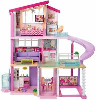 Barbie Dream House With Accessories & Slide FHY73