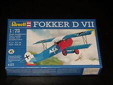 MAQUETTE- FOKKER D VII - REVELL  - 1/72 - MODEL KIT -  COMPLETE