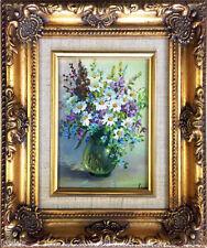 Peintures du XXe siècle et contemporaines huile encadrée fleur, arbre