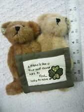 Boyds Collection~A Friend Is Like A Four Leaf Clover Hard To Find.Lucky To Hav