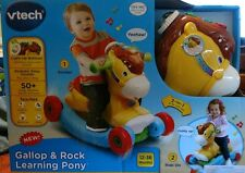 New Rocking Horse VTech Gallop & Rock Learning Pony Toddler Toy 12-36 Months