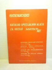 VINTAGE  ZASTAVA  101  SPECIAL  TOOLS  CATALOG / CATALOGUE  1972