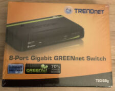 Trendnet Teg-S80g 8-Port External Switch w/ Power Adapter - New and Sealed