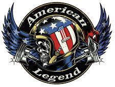 LUCKY 13 STICKER BIKER ROCKABILLY AMERICAN LEGEND STICKER AMERICAN MOTORCYCLE