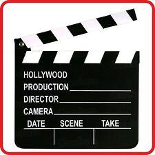 MOVIE FILM TV VIDEO STUDIO PROP SLATE / CLAP / CLAPPER / CLAPPERBOARD / BOARD