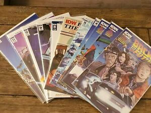 Back to the Future (2015 IDW) 1-11, Cover Gallery Lot Run Connecting Variants