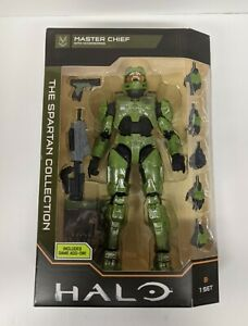 HALO Master Chief The SPARTAN Collection With Accessories & Game Add On NEW