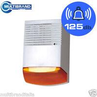 Sirena finta antifurto allarme per esterno sirena civetta deterrente ebay - Antifurto per esterno ...