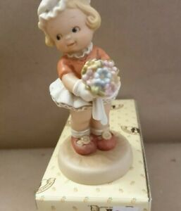 """Mabel Lucie Attwell, memories of yesterday 1992 """"I'm the girl for you"""".New box"""