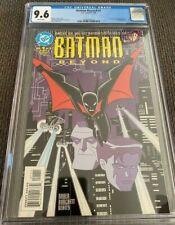BATMAN BEYOND #1 DC 1999 CGC 9.6
